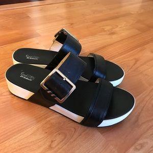 Shoes - Dr. Scholl's Platform Comfort Sandals Black 7.5
